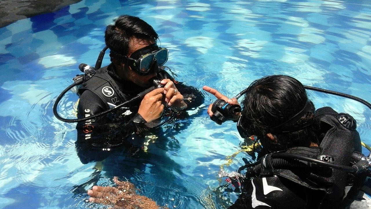 Kurs PADI Open Water na Bali