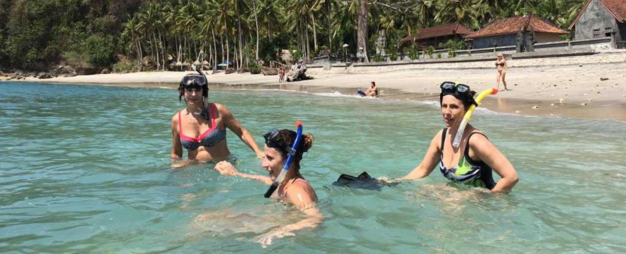 Snorkeling na Bali 2