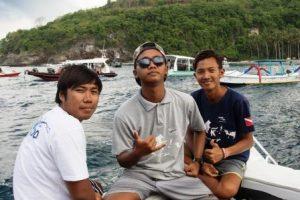 Diving Indo Fajar, Krishna and Rendi